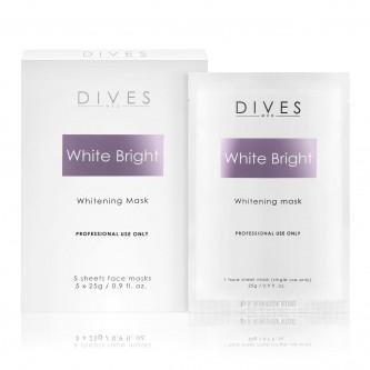 DIVES MED - White Bright Mask - maska depigmentująca 5x25g